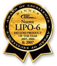 Lipo-6 Award